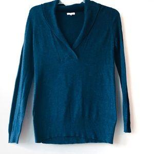 Joie Navy Blue Wool Cashmere Light Sweater